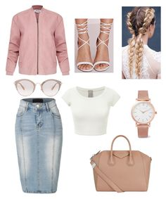 """Untitled #60"" by apostolic-gal ❤ liked on Polyvore featuring Miu Miu, Missguided, Larsson & Jennings, Helmut Lang, LE3NO and Givenchy"