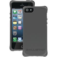 This case doesn't get in your way BALLISTIC LS0955-M145 iPhone� 5 LS Smooth Case (Charcoal with 4 Orange, 4 Charcoal, 4 Black, 4 Teal - $24.99 #onselz
