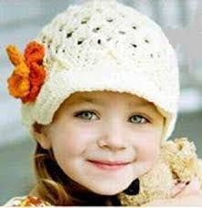 DETE ARTESANATO : toca de crochê bebe fofo