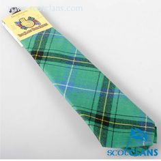 Henderson Ancient Tartan Tie. Free worldwide shipping available