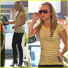 Hayden Panettiere at the Gas Station #celebrities