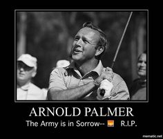 Legendary golfer Arnold Palmer has died. According to his family, Palmer died Sunday at his home in Pennsylvania. Arnold Palmer was a Famous Golfers, Masters Tournament, Arnold Palmer, Jack Nicklaus, Golf Channel, Golf Quotes, Golf Lessons, Athletic Men, Together We Can