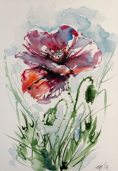 ARTFINDER: Poppy by Kovács Anna Brigitta -