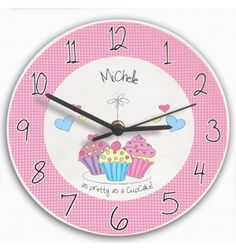 Cupcake Clock | Mugs & Teacups | Exclusively Personal