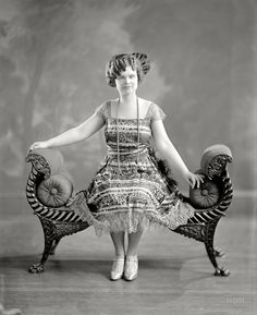 """Shorpy Historic Picture Archive :: Miss Little: 1925 """"Miss M.K. Little."""" high-resolution photo"""