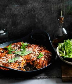 Eggplant parmigiana - Gourmet Traveller