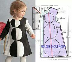 Little dress black n white