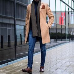 A Well Dressed Man: Coats, Trench Coats, Peacoats, Top Coats Site :You can find Men coat and more on our website.A Well Dressed Man: Coats,. Mens Boots Fashion, Mens Fashion Suits, Men's Fashion, Fashion Guide, Fashion Photo, Lifestyle Fashion, Man Winter Fashion, Fashion Ideas, Fashion Trends