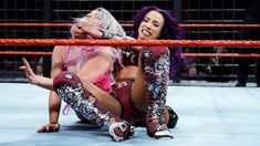 Raw Women's Champion Alexa Bliss, Sasha Banks, Bayley, Mickie James, Sonya Deville and Mandy Rose navigate the twisted steel and chains as they fight for Five Feet of Fury's title in the first-ever Women's Elimination Chamber Match. Wwe Fighting, Mercedes Kaestner Varnado, Wwe Sasha Banks, Mickie James, Wwe Pay Per View, Star Wars, Raw Women's Champion, Wwe Womens, Wwe News