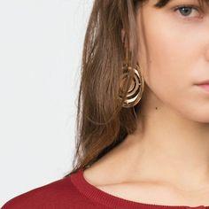 Zara Circle Design Earrings
