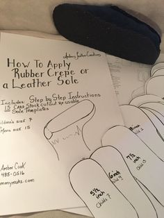 How to Apply a Rubber Crepe or Leather Sole ~step by step instructional guide w/ illistrations by CustomMyMuks on Etsy How To Make Moccasins, Baby Moccasin Pattern, Make Your Own Shoes, Beaded Moccasins, Nativity Crafts, Leather Projects, Beading Projects, Diy Doll, Beaded Embroidery
