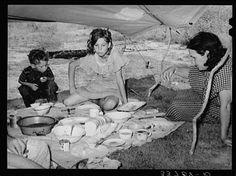 1930s Depression-era | The Great Depression Photo: A Great Depression Family
