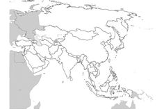 17 Blank Maps Of The U.S. And Other Countries