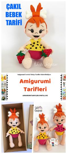 Amigurumi Pebble Doll Making – Amigurumi – Englisch Kostenlose Rezepte – – Origami Amigurumi Toys, Crochet Patterns Amigurumi, Crochet Toys, Crochet Girls, Amigurumi For Beginners, Rag Quilt, Origami Easy, Diy Doll, Crochet Animals