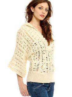 Free People Pointelle Kimono Hoodie Alpaca Blend Sweater Knit Layer Top S/P $29.99 Free Shipping  #FreePeople #Alpacasweater#Anthropologiealpaca
