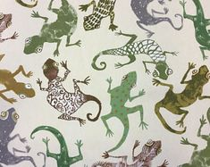 Image result for gecko fabric