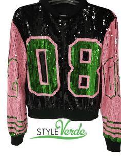 13b19845b32fb Pretty Girl Sequin 08 Jacket – Styleverde Aka Sorority
