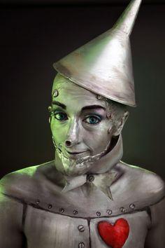 tin man makeup tutorial - Google Search
