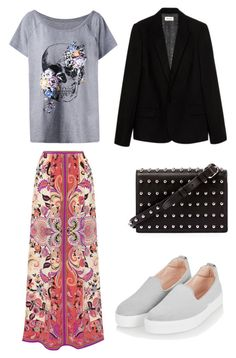A fashion look from June 2017 featuring plus size tees, print jacket and print maxi skirt. Browse and shop related looks. Zadig And Voltaire, Alexander Wang, Topshop, Boho, Shoe Bag, Polyvore, Stuff To Buy, Shopping, Collection