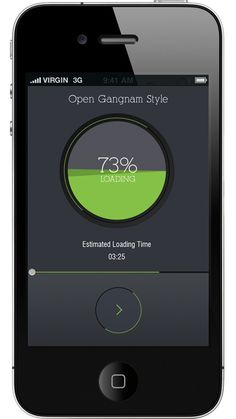 30 Fresh Examples of Mobile Apps with Circular Vibe - 15