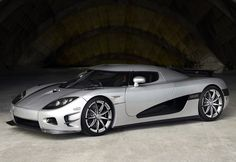 Visit The MACHINE Shop Café... ❤ The Best of Koenigsegg... ❤ (2010 Koenigsegg CCXR Trevita)
