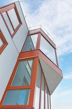 Venta Windows. PRIVATE HOUSE, Kristiansund, Norway. Number of units: 33; U-value: 0.93; Profile: Elite.