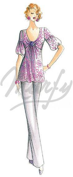 Sewing pattern Dress 2225
