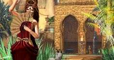 Emo-Tions and Aisling @ We Love Roleplay May's Soul @ Enchantment http://thegoodgorean.blogspot.com/2015/09/arabian-sands.html