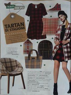 """Domitalia Coquille chair on """"Detto Fatto"""" magazine"""