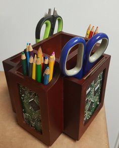 Picture Frame  Mahogany/Cherry Desk organizer  Turntable