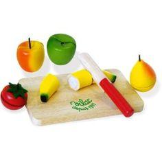 Fruchte Set mit Messer und Brett: Amazon.de: Baby