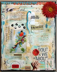 Happily ever after  canvas by glenda tkalac, via Flickr