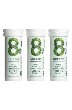 Best Clean Beauty Products from Nordstrom's Natural Outpost - 8G Essential Greens Boster Trio