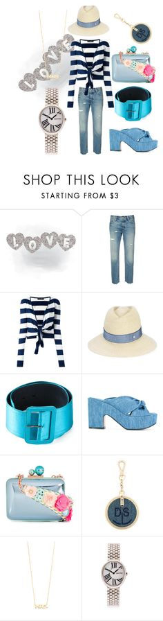 """""""comfortable dress"""" by monica022 ❤ liked on Polyvore featuring Levi's, Dolce&Gabbana, Maison Michel, Yves Saint Laurent, Robert Clergerie, Sophia Webster, Diesel, ZoÃ« Chicco, Eberhard & Co. and vintage"""
