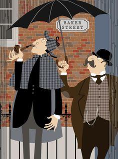 Holmes & Watson by Galia Bernstein