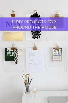11 Inspiring DIY Projects For The Home