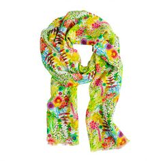 Liberty floral scarf by J Crew