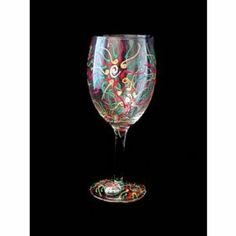 Regal Poinsettia Design Hand Painted Wine Glass by Bellissimo. $22.99. All Bellissimo! merchandise is exquisitely hand painted using an exclusively formulated non-toxic paint.. Bellissimo! is the manufacturer of America's Premier Hand Painted Glassware.. Every product is thoroughly inspected to meet our strict quality control criteria, and then fired twice to insure durability.. Highly collectible, each piece of Bellissimo! is individually signed by the artist.. Fo...
