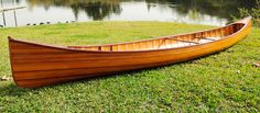 CaptJimsCargo - Cedar Wood Strip Built Canoe Wooden Boat 18' with Ribs Woodenboat USA, (http://www.captjimscargo.com/full-size-cedar-strip-canoes-kayaks/cedar-wood-strip-built-canoe-wooden-boat-18-with-ribs-woodenboat-usa/)