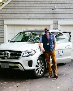 Photographer Sean Gale Burke is visiting the Ryder Cup in Minneapolis with the Mercedes-Benz GLS.