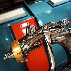 Pininfarina Iwata Paint Gun spraying PPG