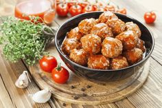 """Slow Cooker BEST Meatball - Enough said """"BEST MEATBALLS""""!  www.GetCrocked.com"""