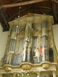The Van Hagerbeer/Schnitt-organ 1637-1639 Alkmaar, the organcase: by architect Jacob van Campen ©Jan Zwart