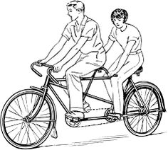 Cycling In Tandem Is Gemini
