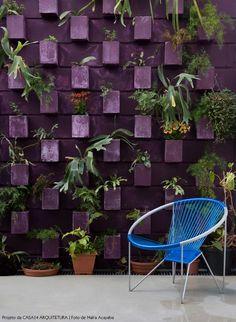 Jardins pelas paredes - Casa 14 Arquitetura