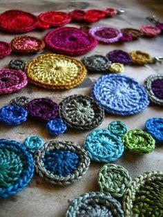bracelet ronds crochet