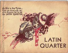 1940's Vintage Souvenir Photo Men Latin Quarter Nite Club One Owner | eBay
