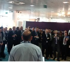 #MIPIM2014 Day 2: Waheed Nazir talking at Launch of the Curzon Masterplan