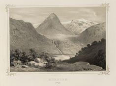 Norge fremstillet i Tegninger - Joachim Frich - Myrhorn i Sogn.  jpg (4896×3640)