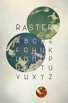 Raster by David Gobber, via Behance